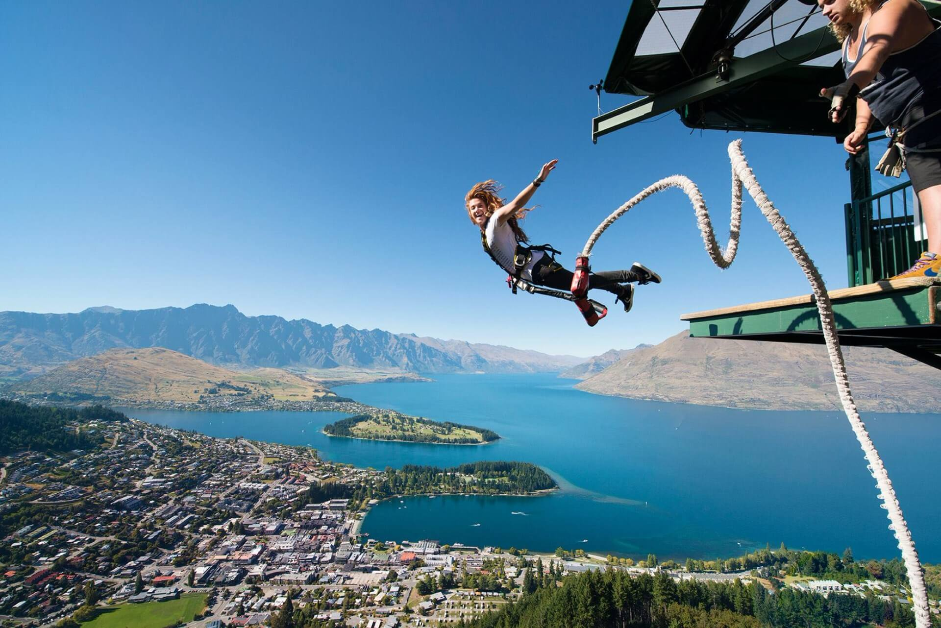 Sibenik bridge - Bunge jumping