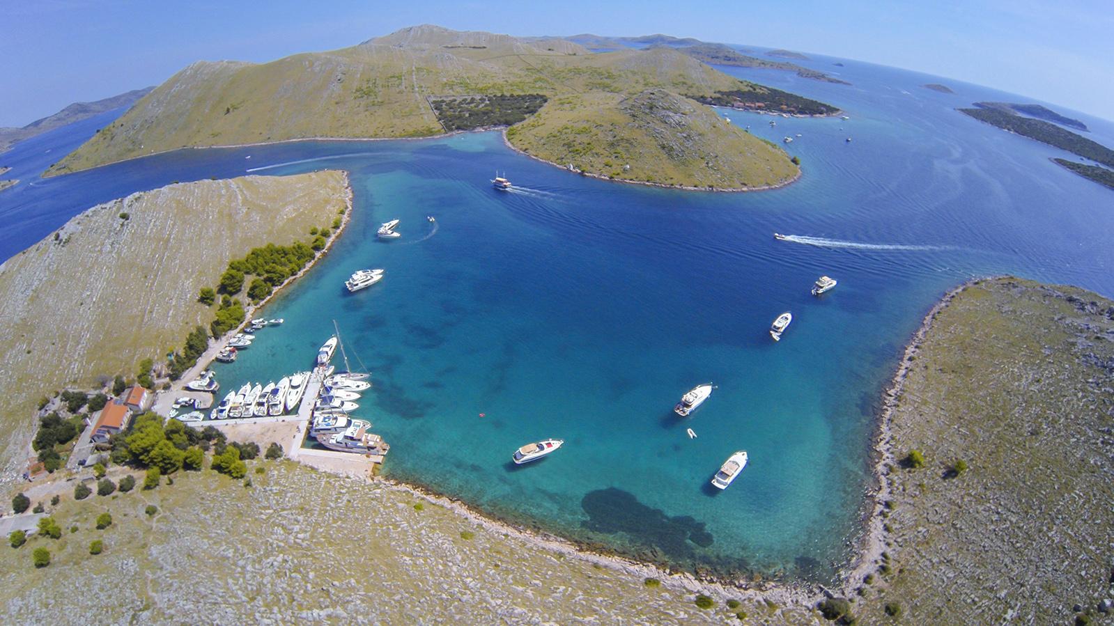 Kornati bay National park Croatia