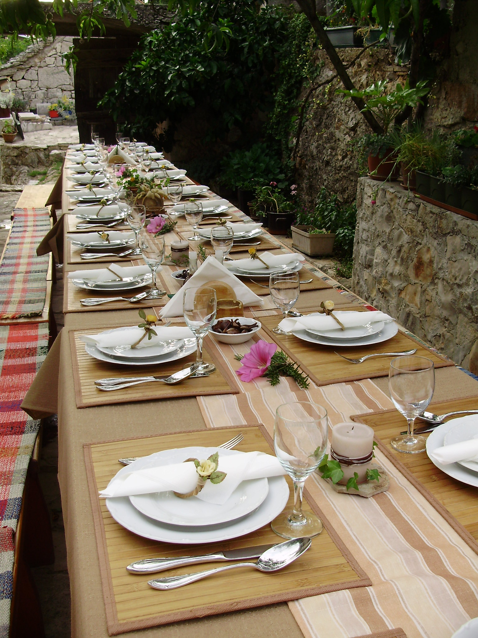 Restaurant in Primosten Croatia Baćulov Dvor