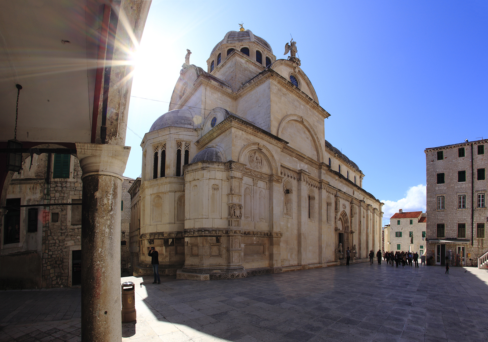 The Catherdal of St. James Croatia