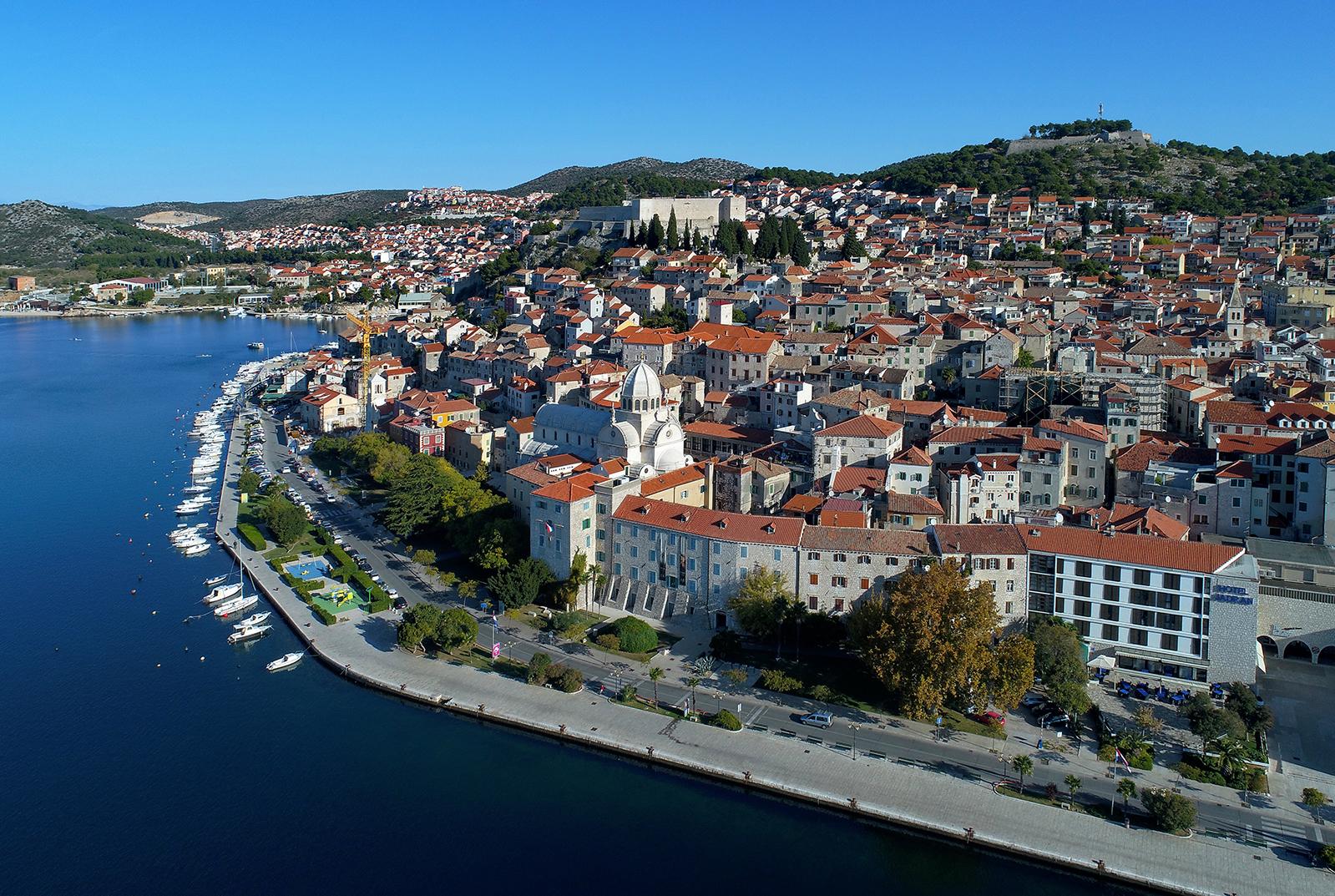 Bravoos city and Šibenik Croatia Game of Thrones