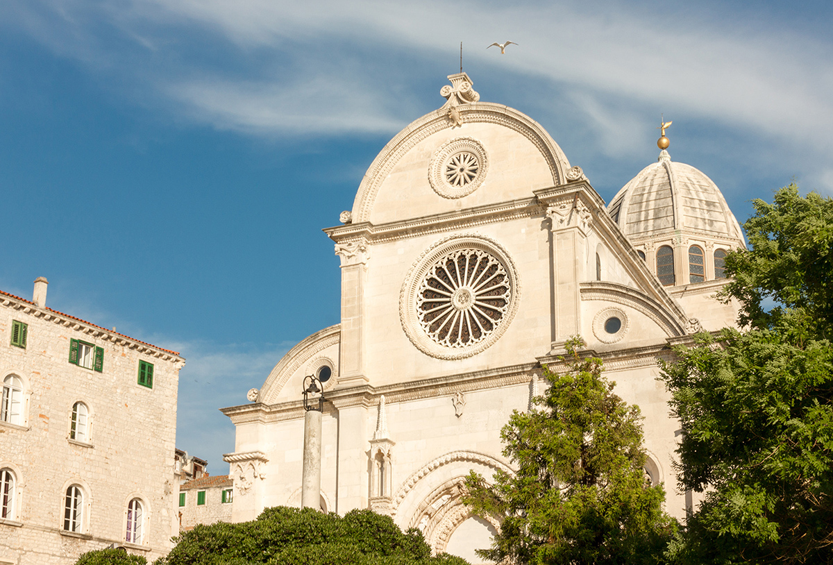 Croatian UNESCO proected sites: The Cathedral of St. james