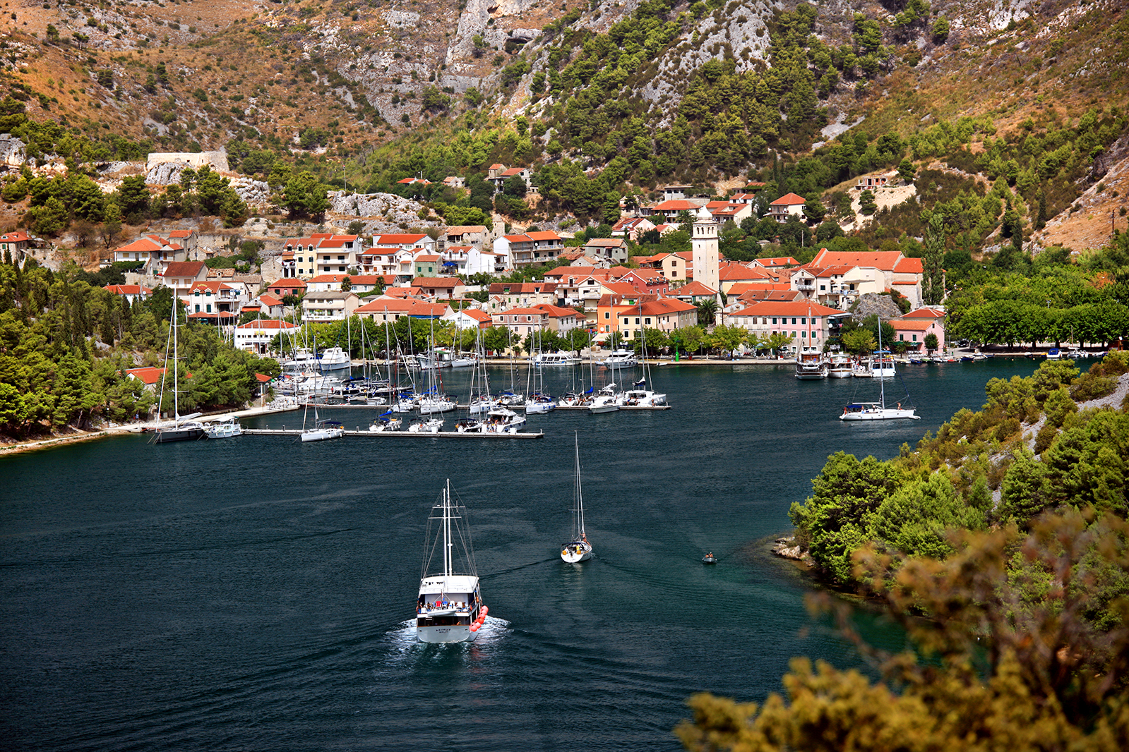City of Skradin Croatia