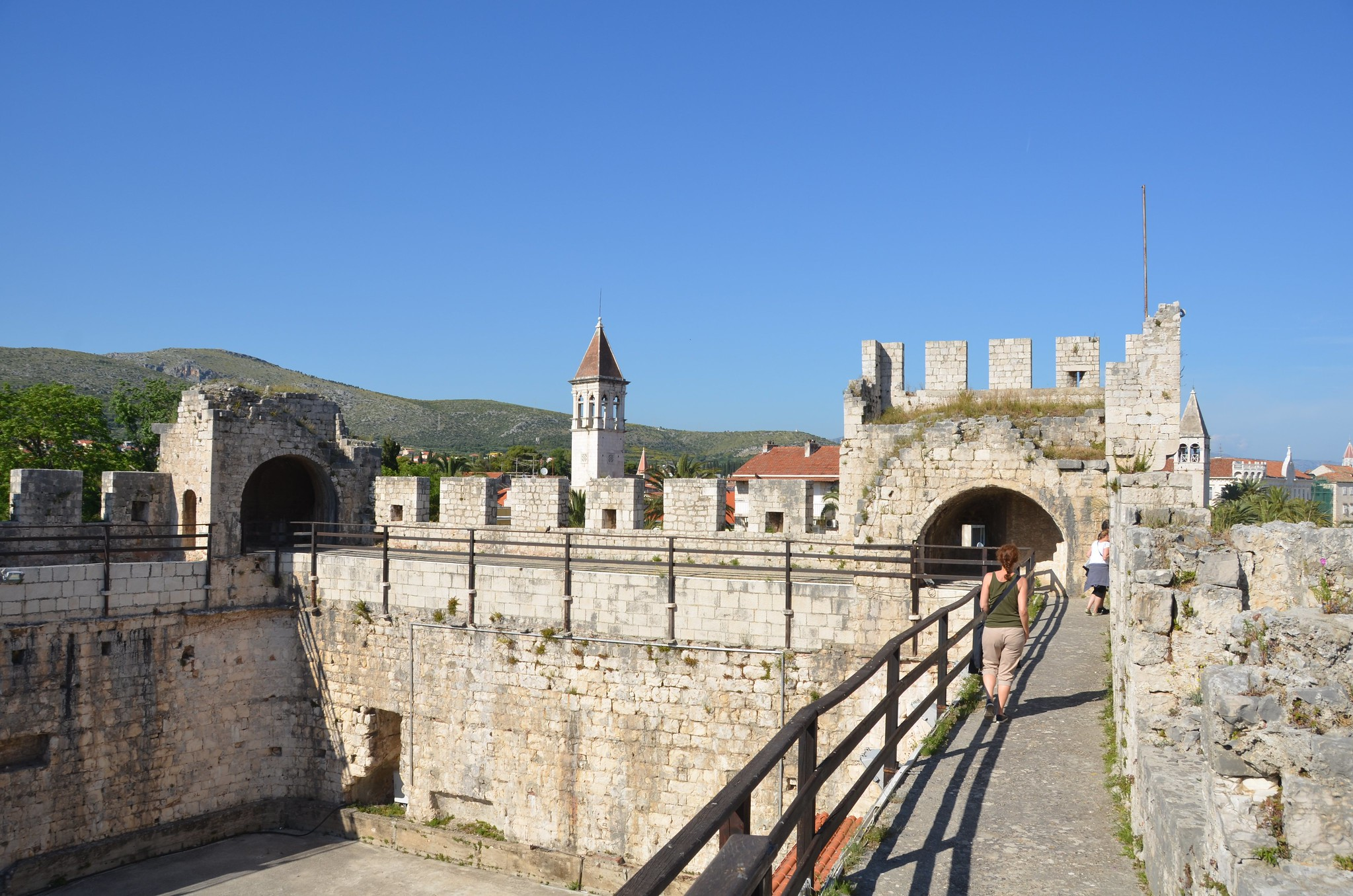 Stadtmauern in Trogir