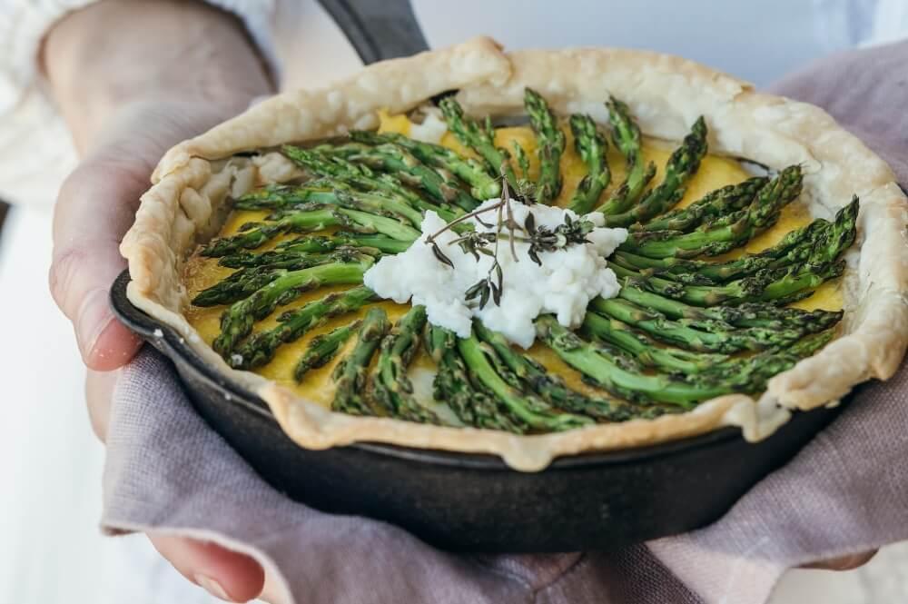 Asparagus meal