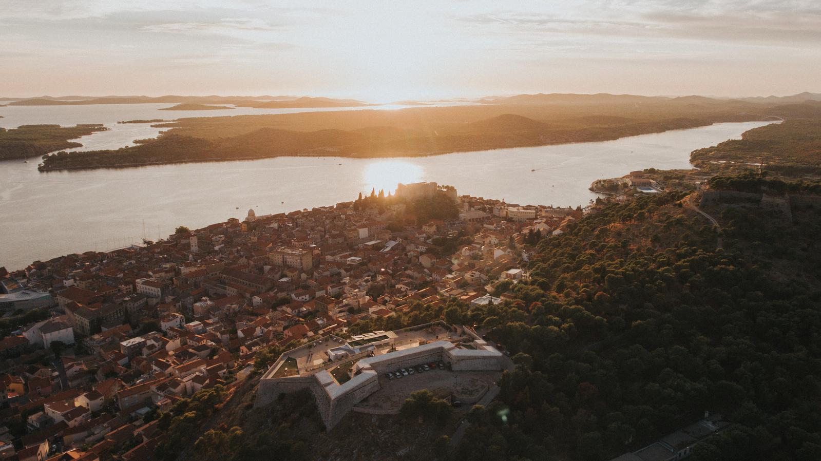 Barone fortress Šibenik Croatia