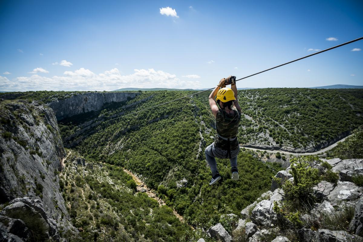 Zipline Croatia Šibenik