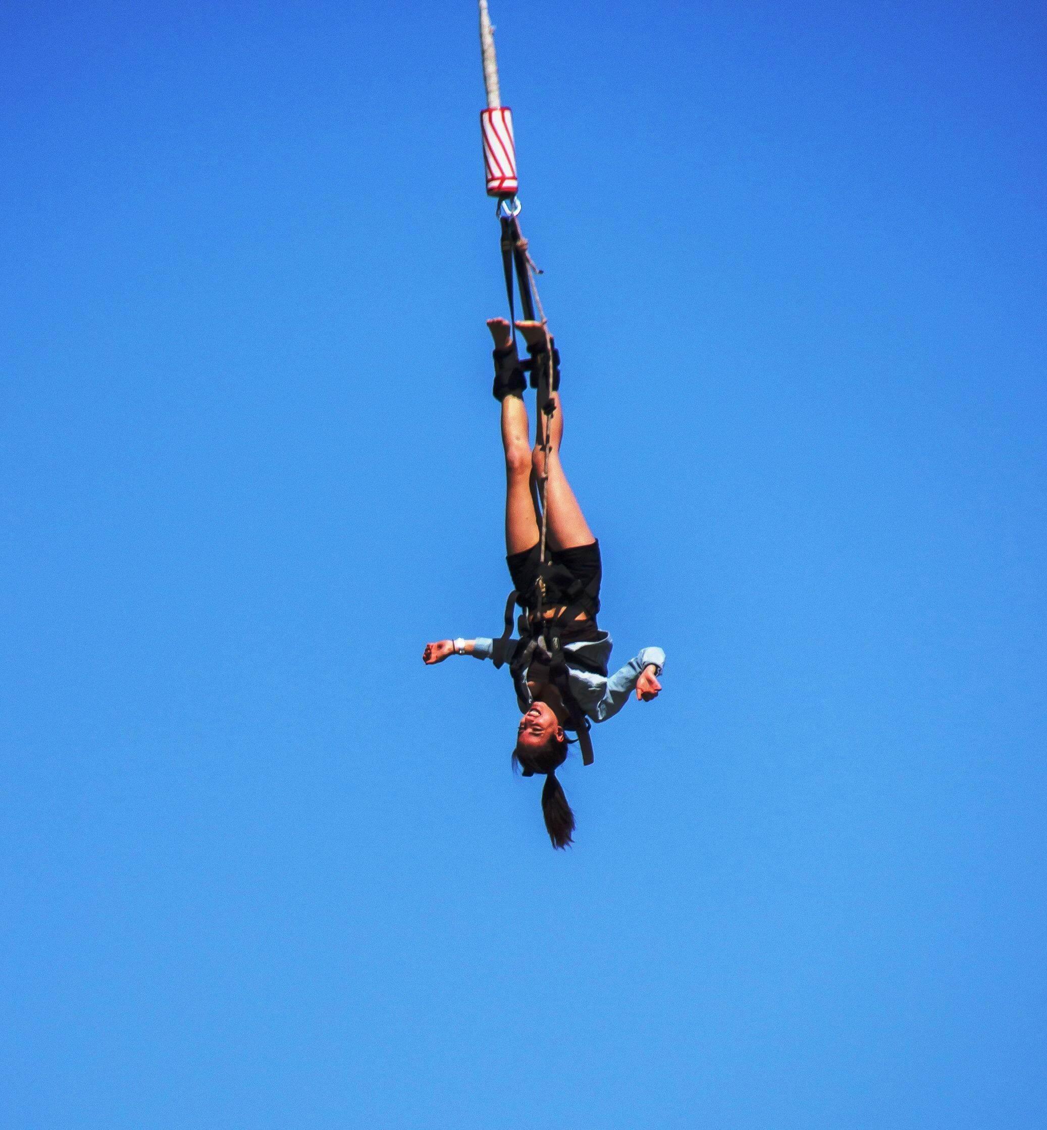 Bunge jumping - Pag island