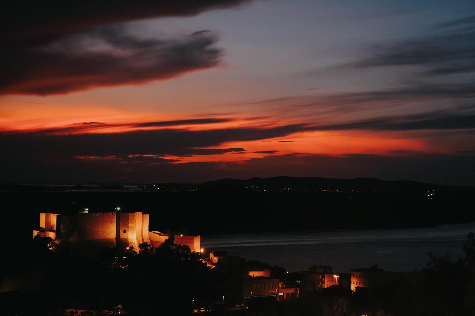 St. Michael fortress Šibenik Croatia