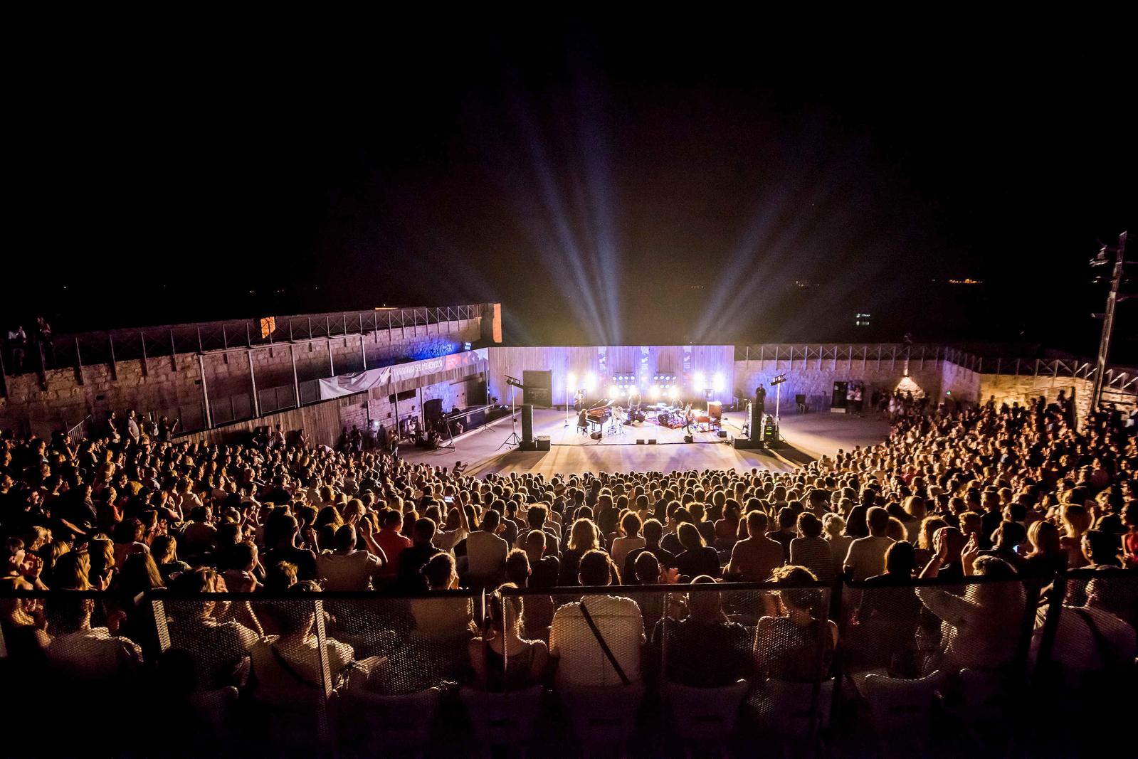 St. Michael fortress Šibenik Croatia summer concert