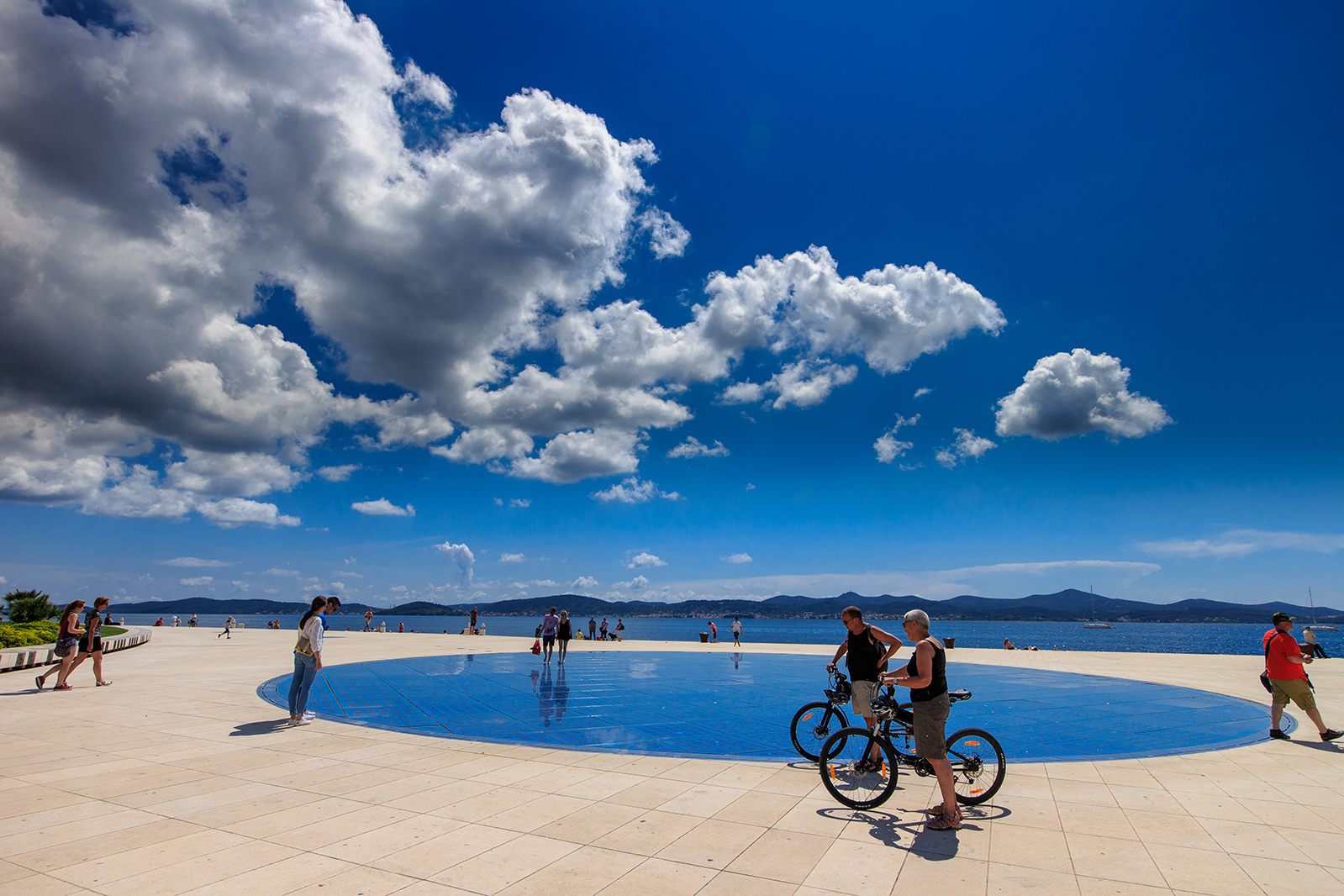 Greeting to the sun Zadar Croatia