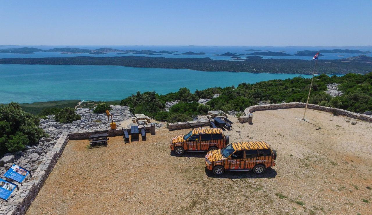 Jeep Safari adrenaline Šibenik