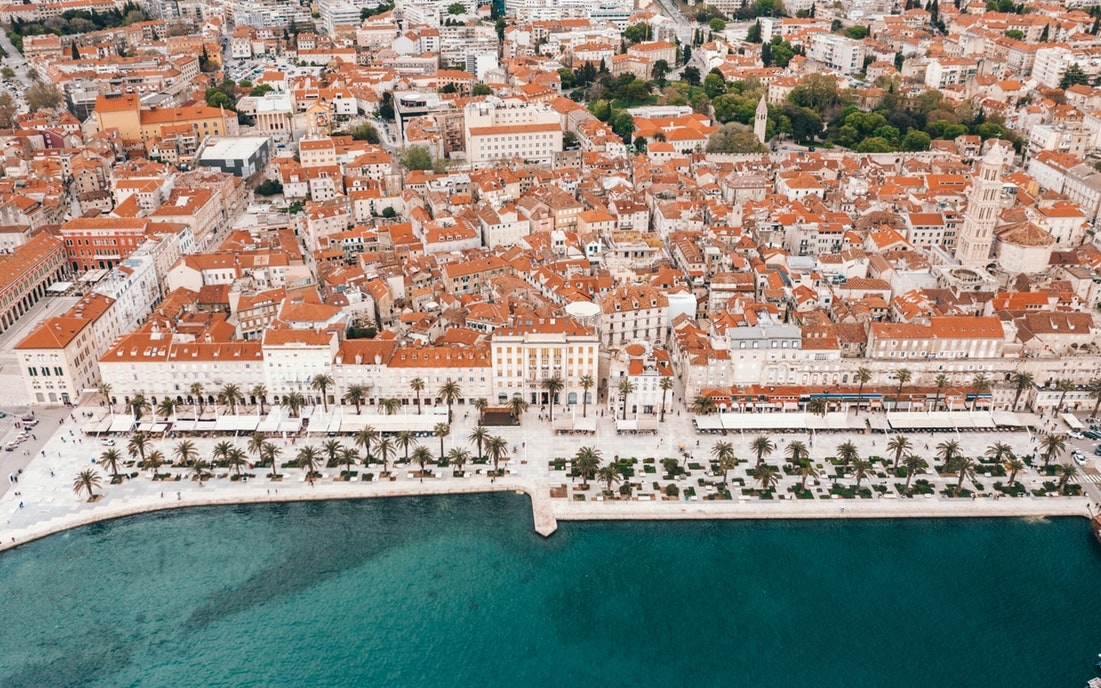 Split promenade Croatia