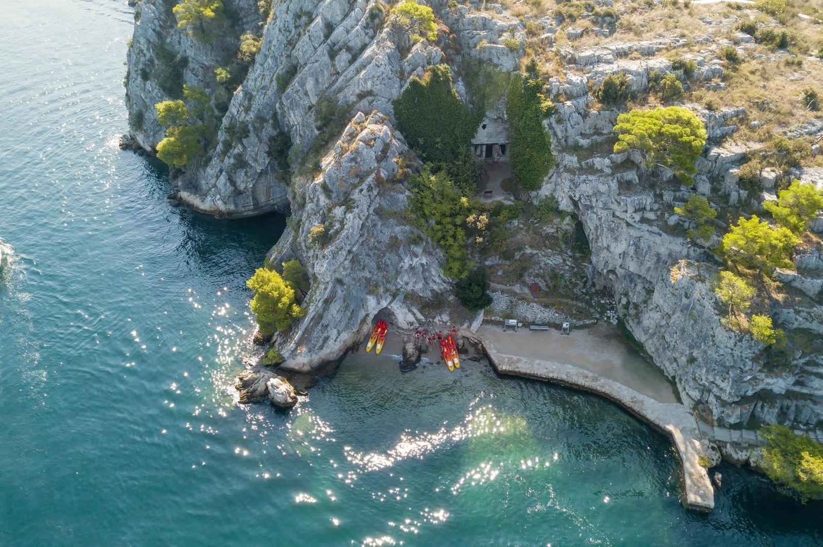 Kayaking Šibenik Croatia