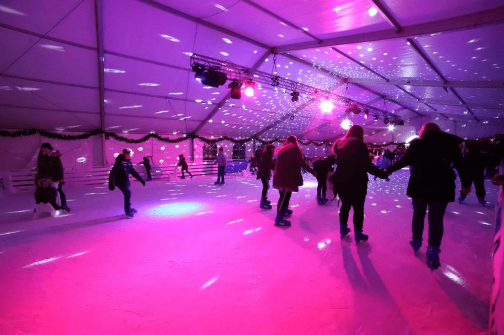 skating rink in Sibenik