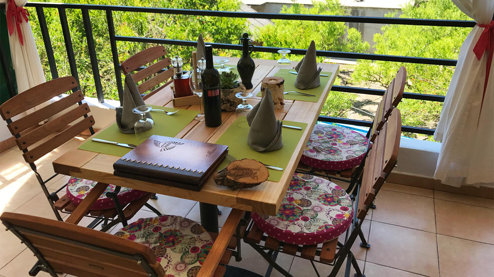 Dining in Skala Skradin Croatia