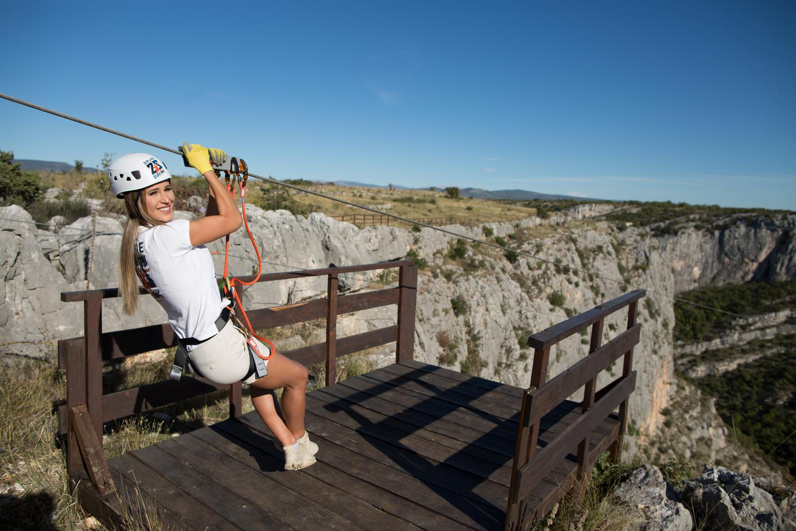Zip line Šibenik – Čikola canyon