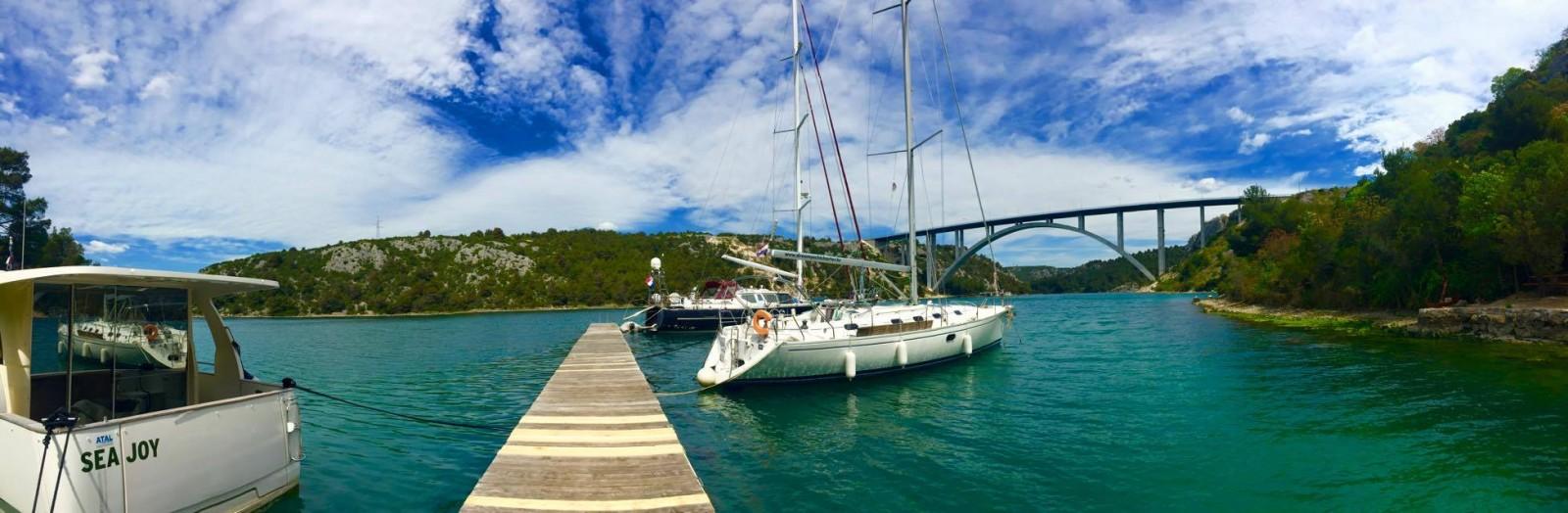Taverne Vidrovača Šibenik - dalmatinische Gastronomie für Bootsfahrer
