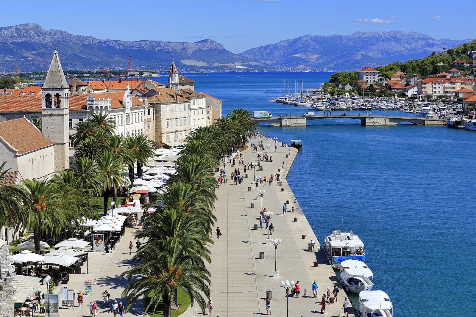 City of Trogir Croatia: small town rich with history