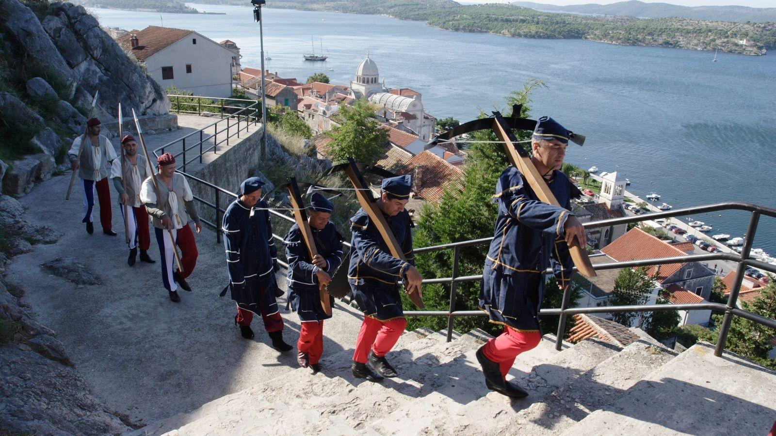 Medieval Fair in Šibenik Croatia: Travelling back in famous historical times of the city