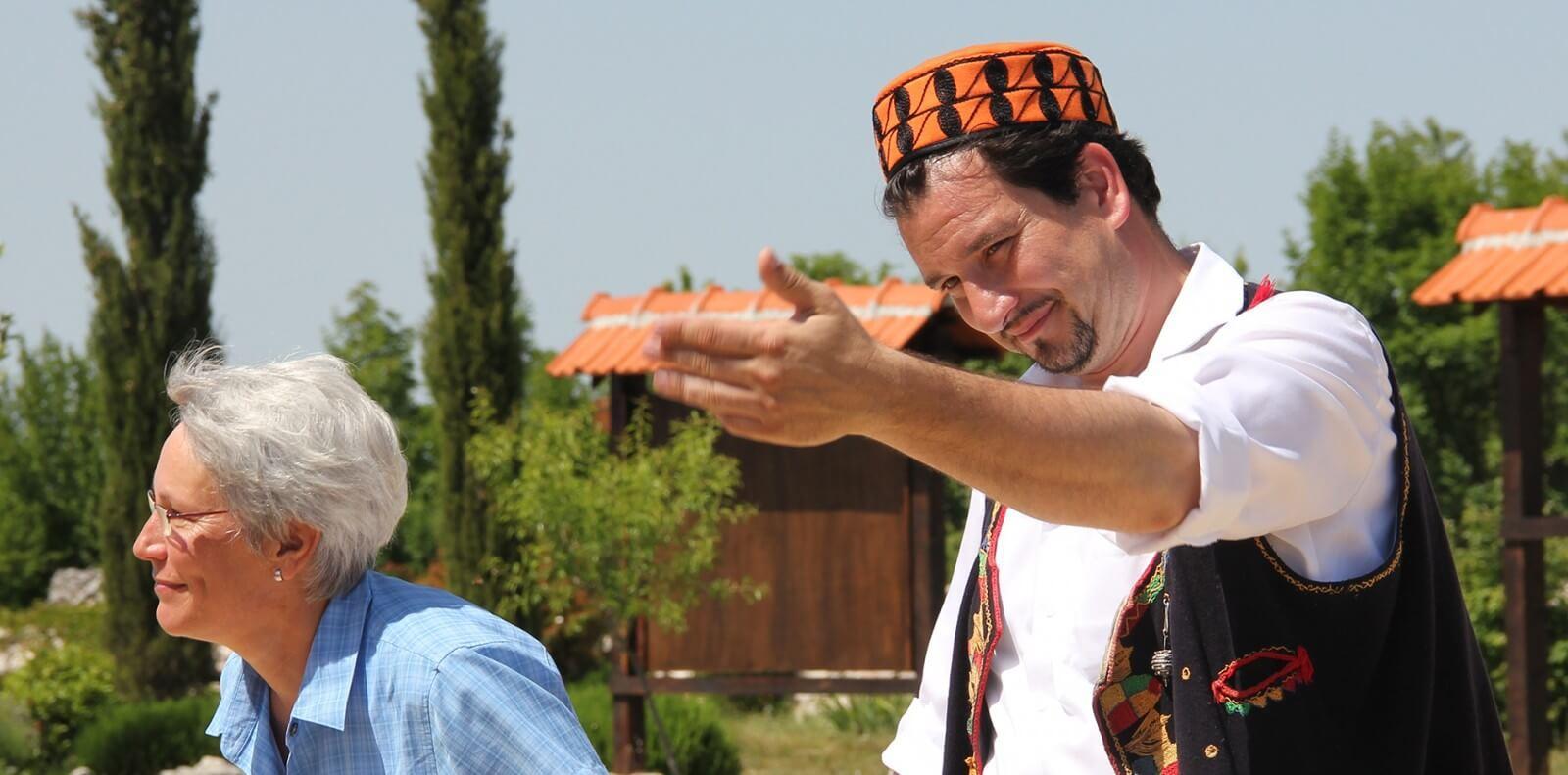 Sibenik hat - the symbol of Sibenik and Dalmatia