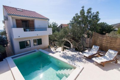 Beachfront villa in Trogir